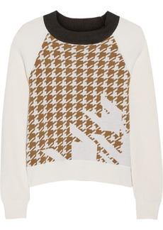 3.1 Phillip Lim Houndstooth intarsia wool sweater
