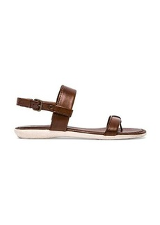 Frye Amelia Sling Back Sandal in Brown