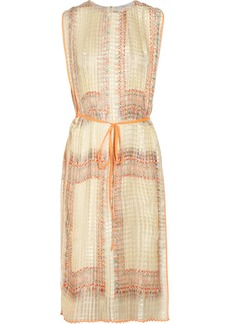 Chloé Foulard-print pleated silk dress