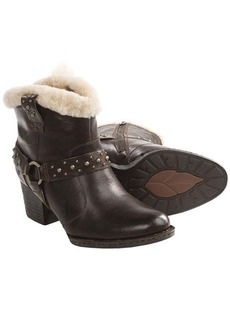 Born Connolly Ankle Boots - Shearling Lining (For Women)