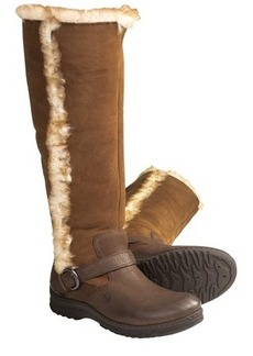 Born Helga Boots - Shearling-Lined (For Women)