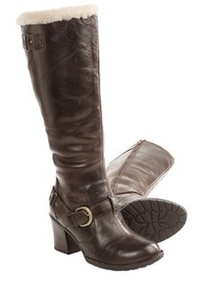 Born Kamana Tall Boots - Shearling Lining (For Women)