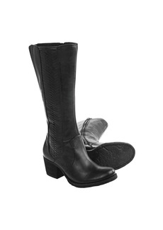 Born May Tall Leather Boots (For Women)