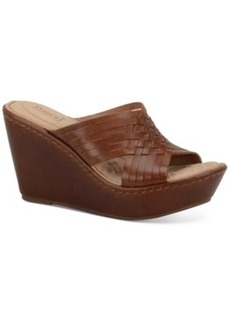 Born Millia Platform Wedge Sandals Women's Shoes