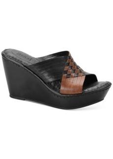 Born Millia Platform Wedge Sandals Women's Shoes