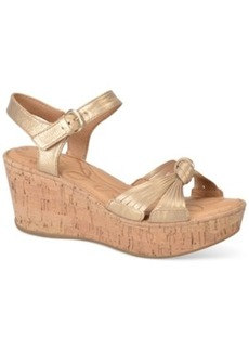Born Skye Platform Wedge Sandals Women's Shoes