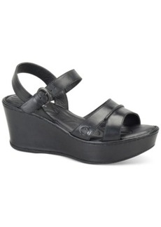 Born Tayen Platform Wedge Sandals Women's Shoes