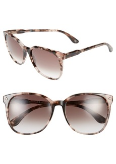 Bottega Veneta 57mm Retro Sunglasses