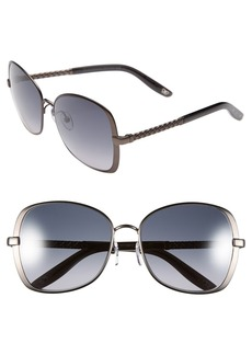 Bottega Veneta 57mm Special Fit Sunglasses