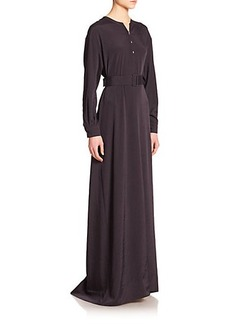 Bottega Veneta Belted Twill Dress