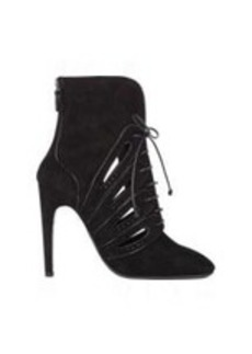 Bottega Veneta Cutout Back-Zip Ankle Booties