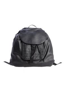 Bottega Veneta nero leather backpack