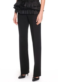 Bottega Veneta Slim-Leg Crepe Trousers