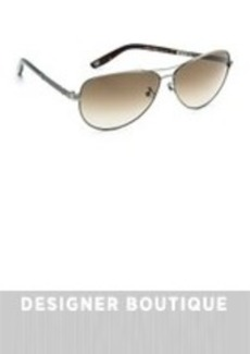Bottega Veneta Special Fit Aviator Sunglasses