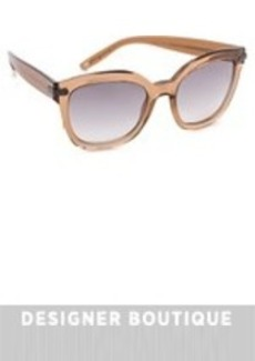 Bottega Veneta Thick Frame Sunglasses