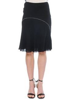 Waist Stitch Bias Skirt   Waist Stitch Bias Skirt