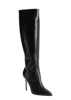 Brian Atwood black calfskin 'Aradia' knee-high boots