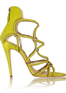 Brian Atwood Cleta suede sandals