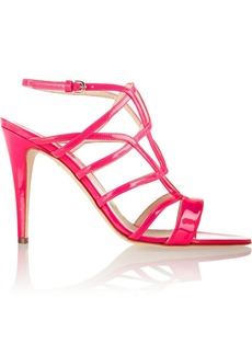 Brian Atwood Patent-leather sandals