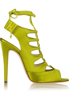 Brian Atwood Satin sandals