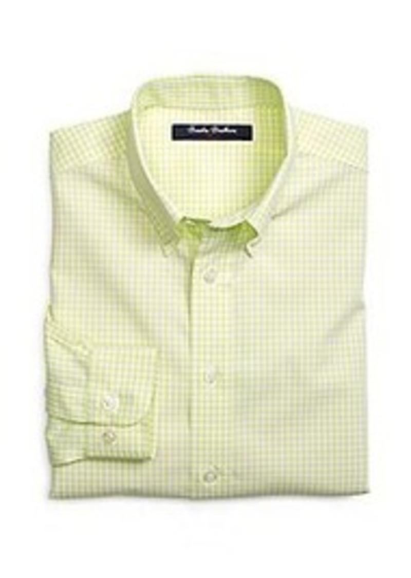 Brooks brothers boys non iron gingham sport shirt shirts for Brooks brothers non iron shirts review
