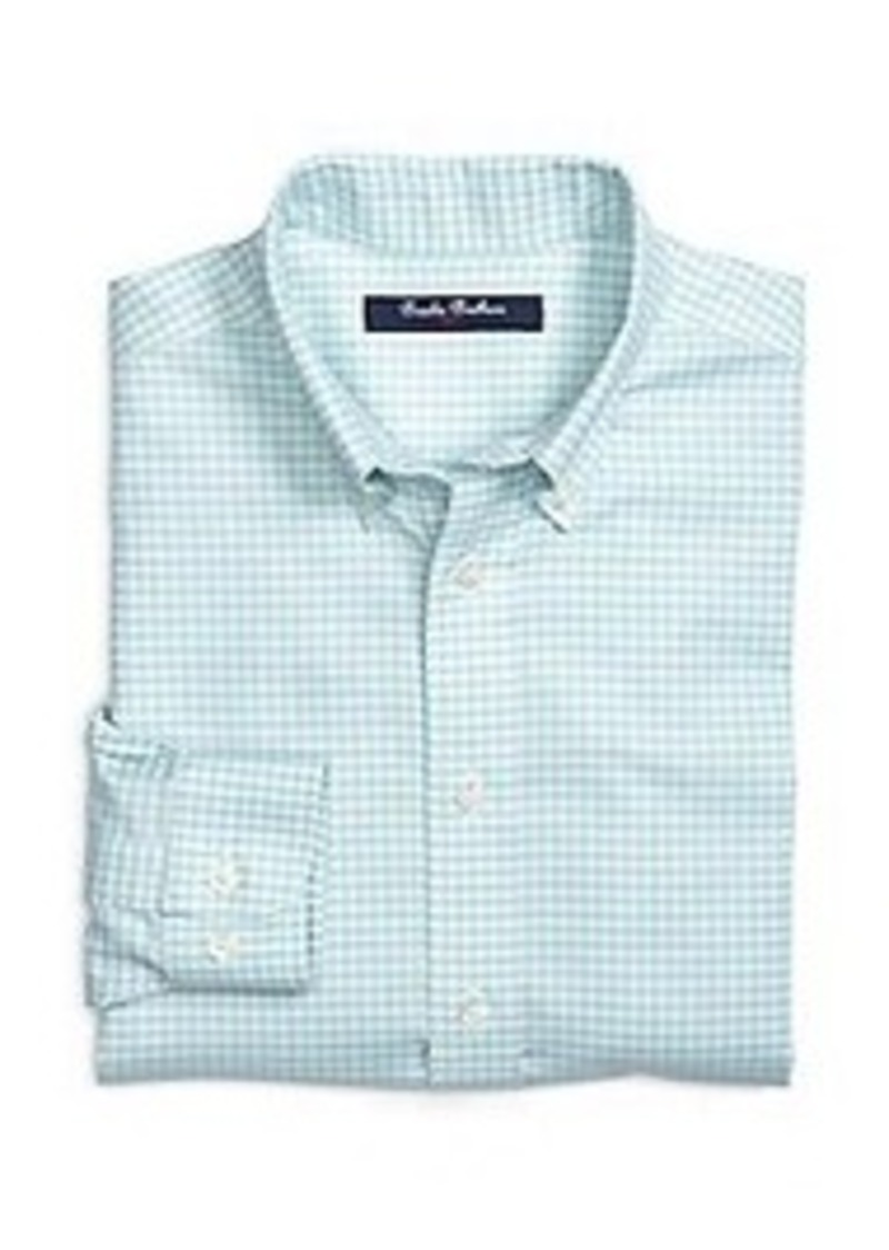 Brooks brothers boys non iron gingham sport shirt shirts for Brooks brothers boys shirts
