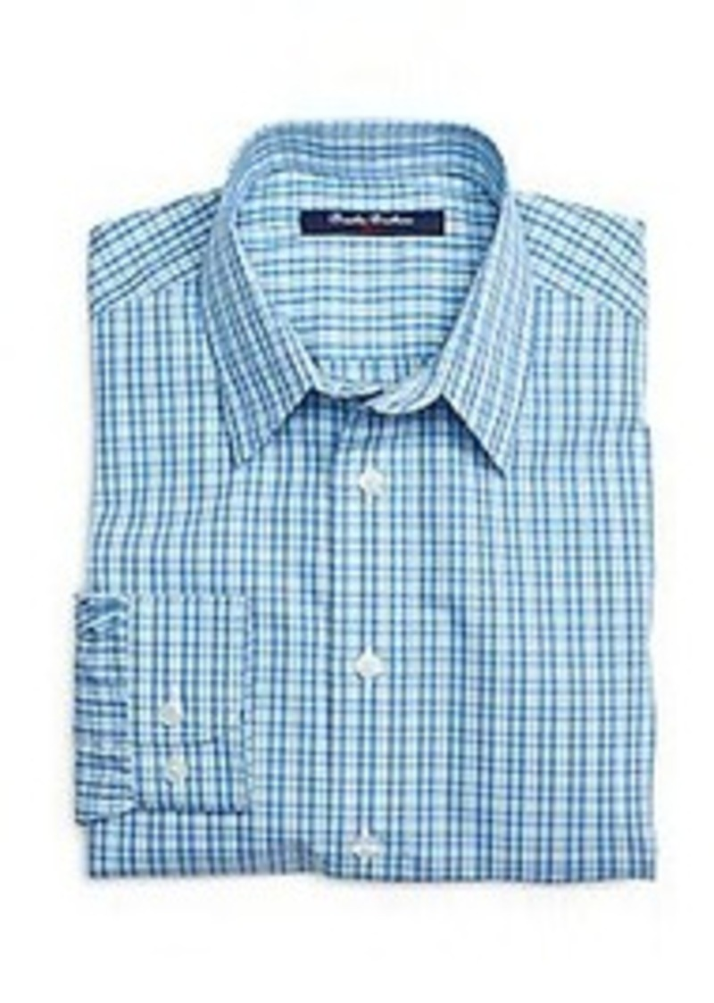 brooks brothers boys non iron plaid sport shirt shirts