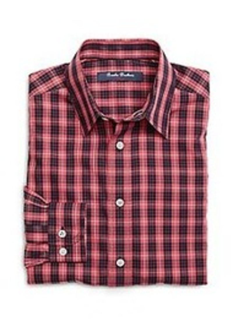 Brooks brothers boys non iron small check sport shirt for Brooks brothers boys shirts