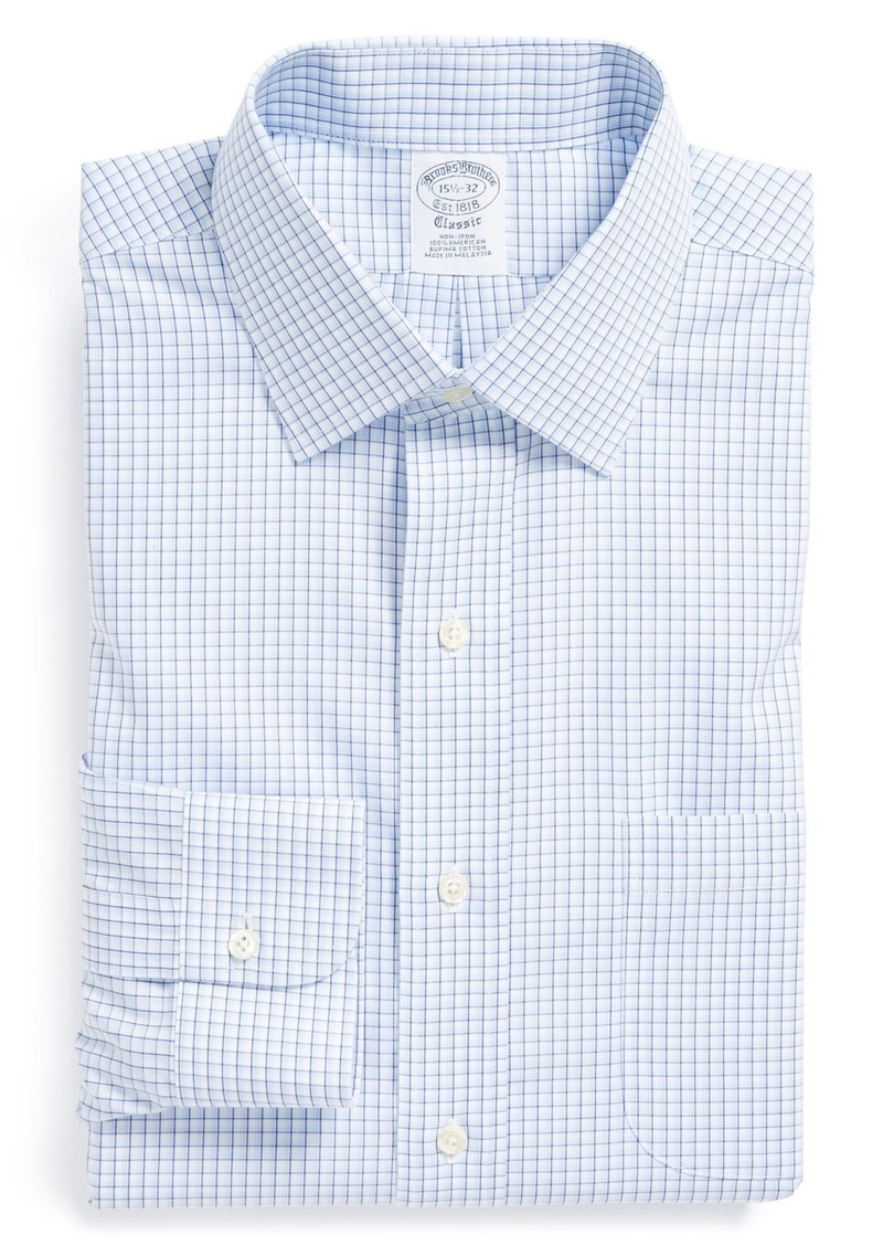 Brooks Brothers Brooks Brothers Non Iron Slim Fit Check