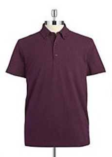 BROOKS BROTHERS RED FLEECE Dotted Knit Polo