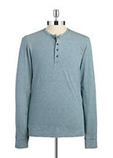 BROOKS BROTHERS RED FLEECE Striped Henley