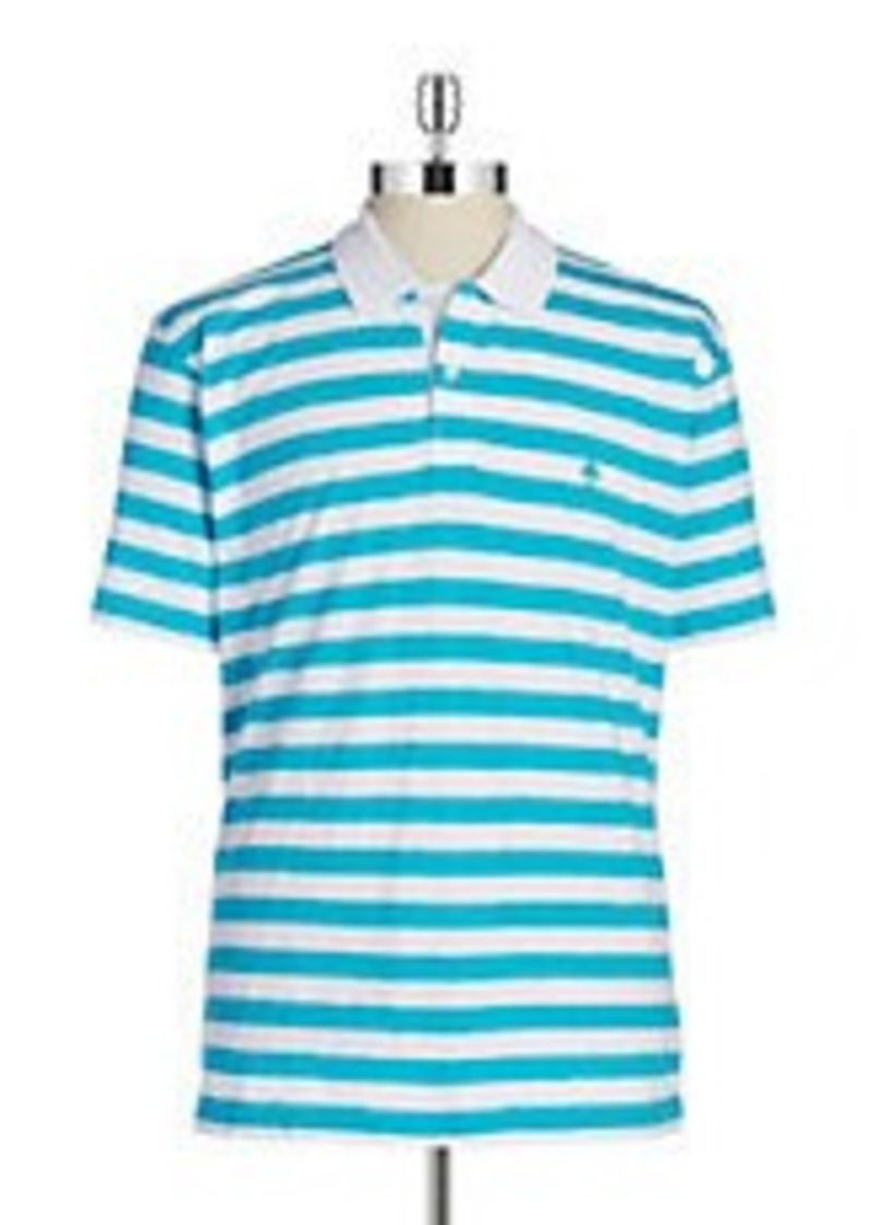 Brooks Brothers Brooks Brothers Red Fleece Striped Polo