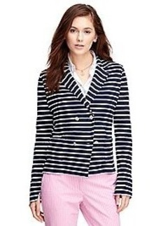 Cotton Blend Sweater Jacket