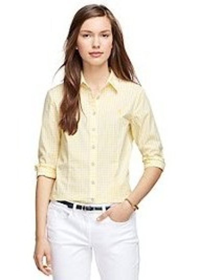 Brooks Brothers Cotton Gingham Shirt Casual Shirts