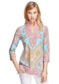 Cotton Paisley Tunic