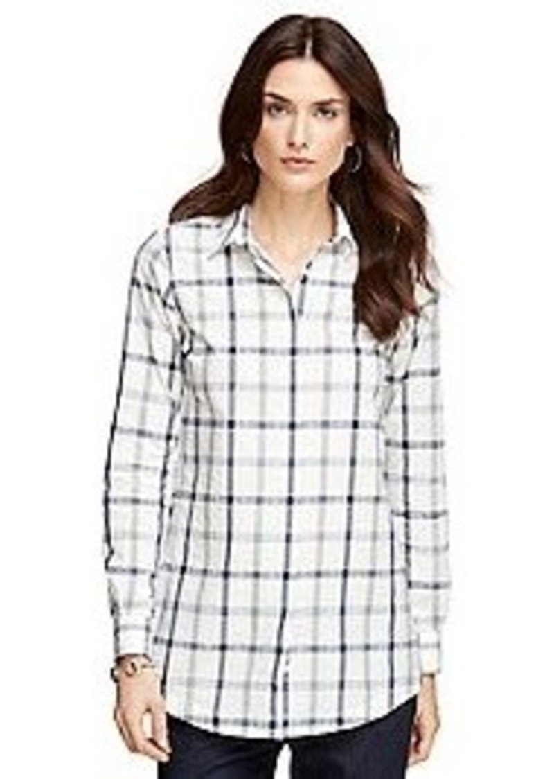 Brooks Brothers Cotton Tunic Casual Shirts Shop It To Me