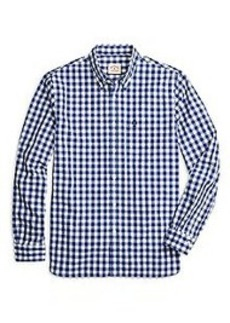 Large Gingham Sport Shirt