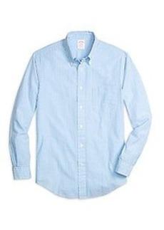 Madison Fit Seersucker Stripe Sport Shirt