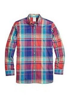 Madison Fit Sodalite Madras Sport Shirt