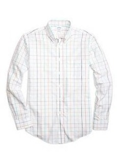 Non-Iron BrooksCool® Regent Fit Large Tattersall Sport Shirt