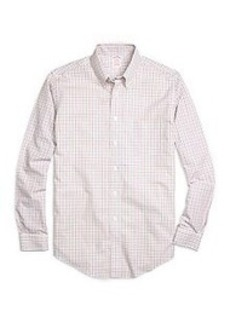 Non-Iron BrooksCool® Regent Fit Tattersall Sport Shirt
