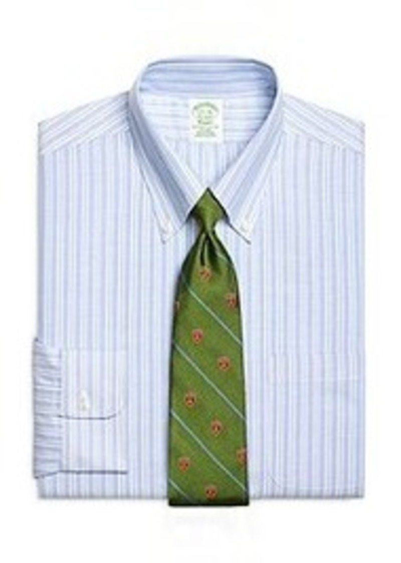 Brooks brothers non iron extra slim fit brookscool for Extra slim dress shirt