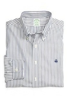 Non-Iron Extra-Slim Fit Stripe Sport Shirt