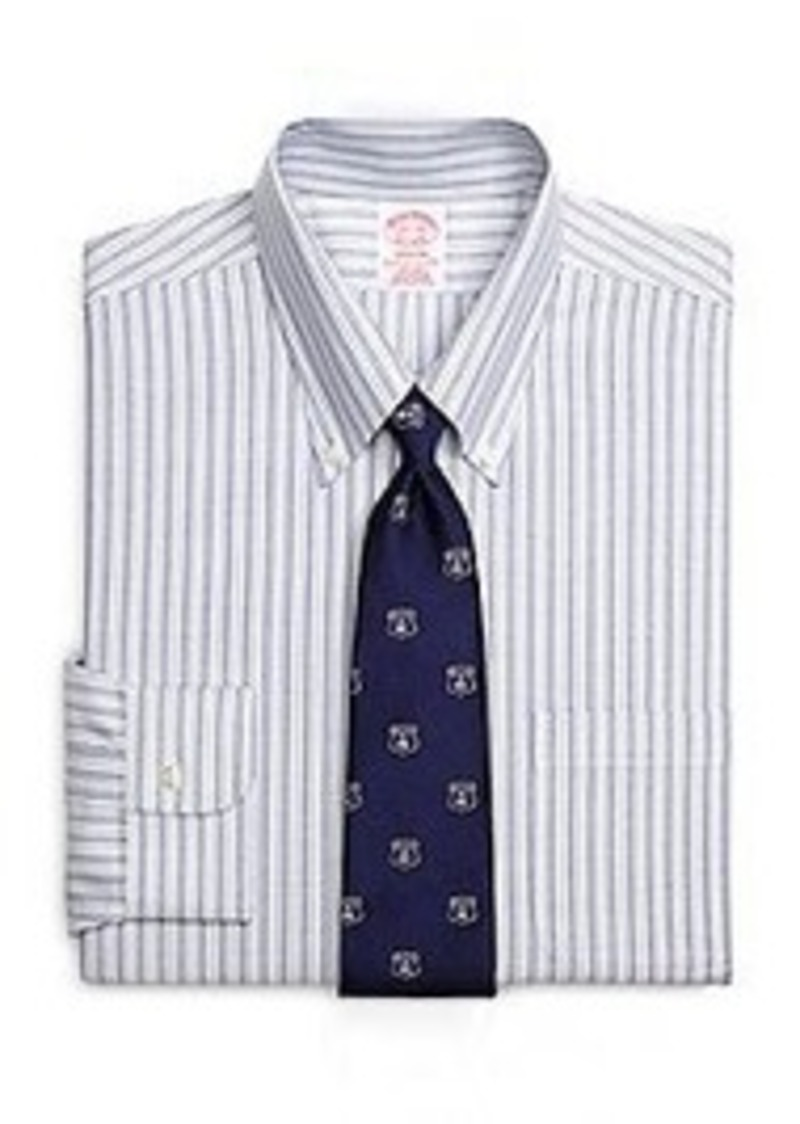 Brooks brothers non iron madison fit brookscool for 18 36 37 shirt size