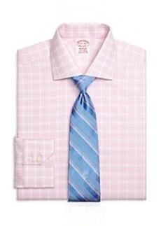 Non-Iron Madison Fit Check Dress Shirt