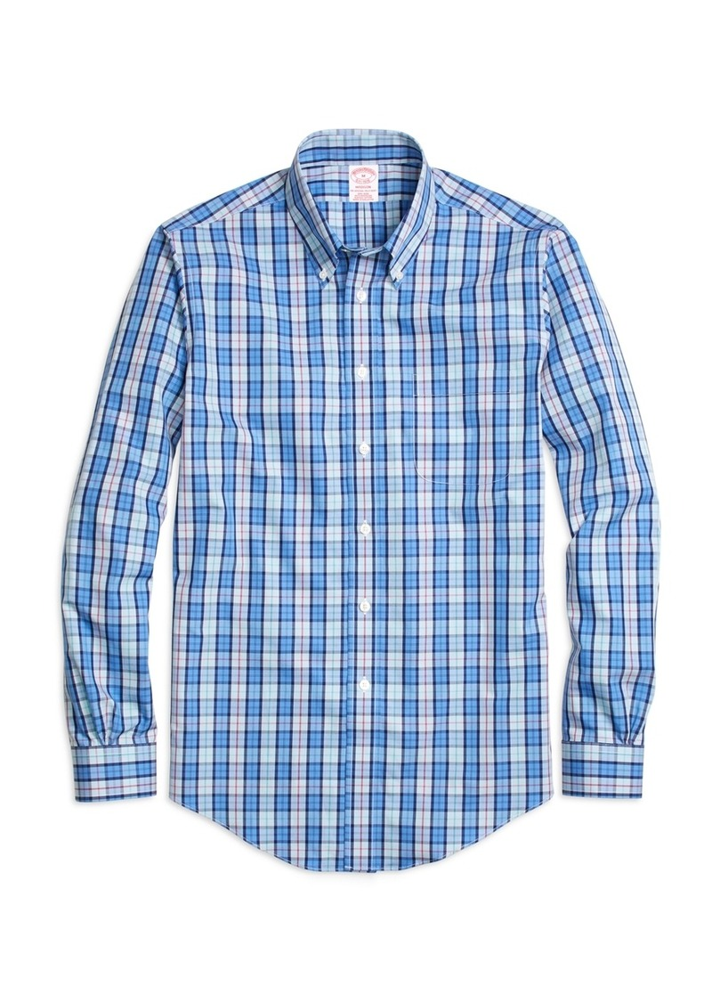 Brooks Brothers Non Iron Madison Fit Check Sport Shirt