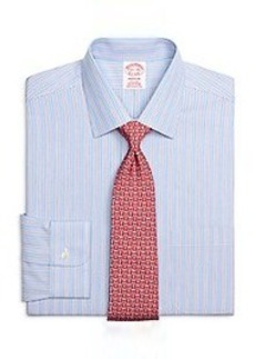 Non-Iron Madison Fit Framed Stripe Dress Shirt
