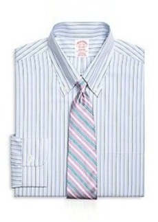 Non-Iron Madison Fit Tonal Stripe Dress Shirt