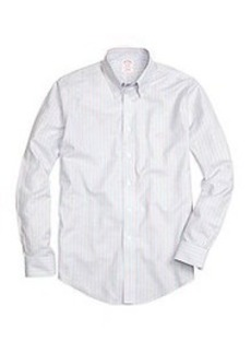 Non-Iron Madison Fit Track Stripe Sport Shirt