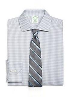 Non-Iron Milano Fit Alternating Frame Check Dress Shirt
